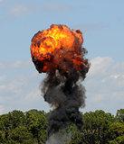 Giant fireball
