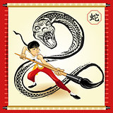 Chinese Snake New Year