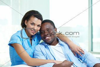 Ethnic couple