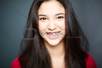 Cheerful girl