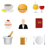 Restaurant icons