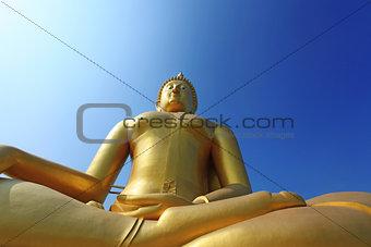 Buddha meditation statue in Thailand