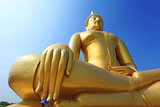 Buddha meditation statue in Thailand