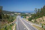 highway next Vigo city