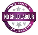 Say No To Child Labour seal