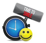 Time to Smile and a happy face