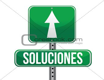 solutions Spanish sign