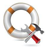 Lifesaver and Tools
