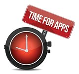 Clock &quot;Time for APPS&quot;