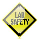 lab safety sign