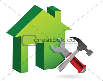 House with tools