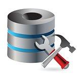 Database optimization and configuration concept