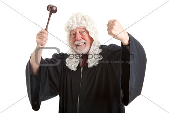 British Judge Frustrated and Angry