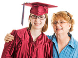 Graduate with Proud Mother