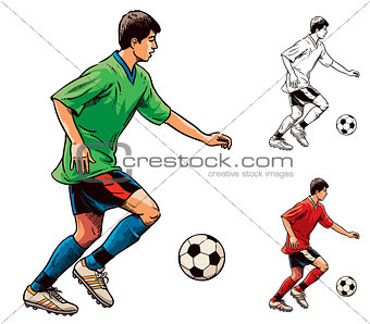 Soccer Football Player