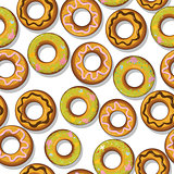 Tasty donuts pattern