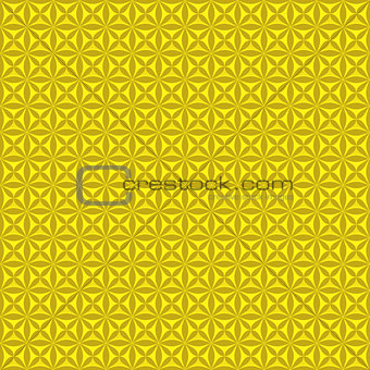 Beautiful background of seamless floral pattern .
