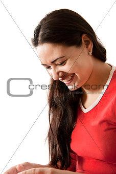 Beautiful joyful Indian girl
