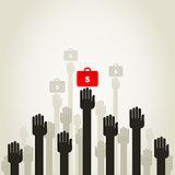 Hand business5