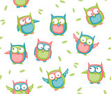 Owl seamless