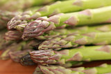 Fresh green Asparagus