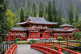 Japanese Byodo-In Buddhist Temple