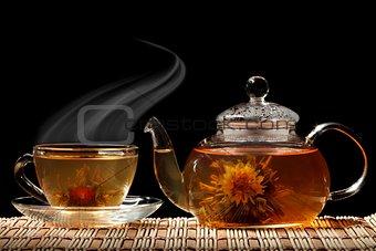 Aromatic tea.