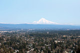 Mount Hood on Columbia River Gorge