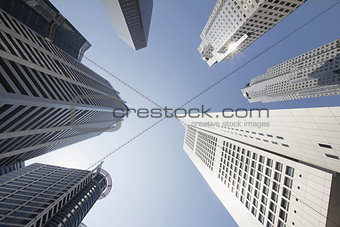 Office Buildings in Singapore Financial District