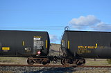 Gas Tank Train Cars