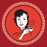 Chinese Retro Person