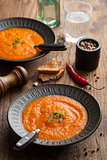 carrot cream soup