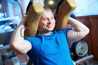Happy sportsman