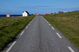 Road on Vaeroy