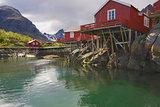 Rorbu huts on Lofoten