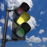 Traffic Light Yellow