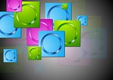 Colourful vector background