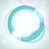 Modern Blue Green Circle Glowing Effects