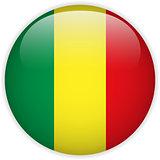 Mali Flag Glossy Button