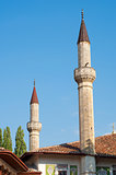 Minaret of the Hansky palace, Bakhchisarai, Crimea, Ukraine
