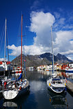 Yachts on Lofoten