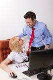 Office flirt