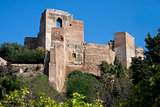 Alcazaba Castle in Malaga, Spain