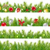 Big Borders Set With Christmas Tree