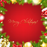 Merry Christmas Red Wallpaper