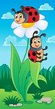 Image with ladybug theme 4