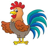 Image with rooster theme 1