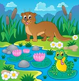 River fauna theme image 1