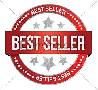 Bestseller label seal