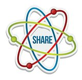 Share icon illustration